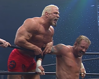 WCW Greed 2001 - Scott Steiner defended the World Heavyweight Championship against DDP