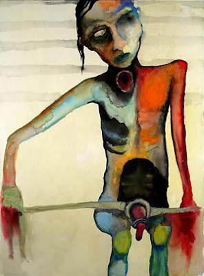 Skoptic Syndrome (Jack), pintura de Marilyn Manson.