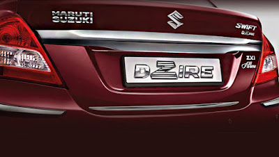 2017 Maruti Suzuki Swift Dzire Allure Limited Edition back view