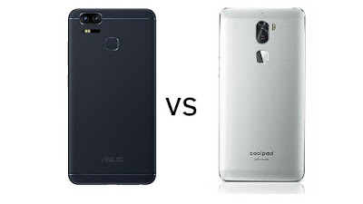 Asus Zenfone 3 Zoom vs Coolpad Cool 1 : Specs comparison