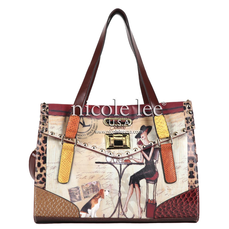 a2764fc2d6 Oh La La Nicole Lee  Gifts  Handbags  Leopardprint  http   nicoleleeonline.com  nicoleleeusa