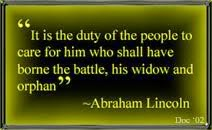 PRESIDENT LINCOLN''S QUOTE