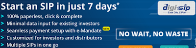 CAMS digiSIP to start SIP in 7 days | SIP in Mutual Funds using CAMS digiSIP