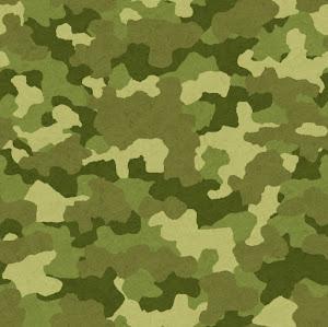 迷彩柄のパターン(緑)