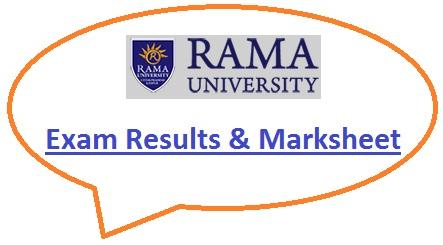 Rama University Result 2020