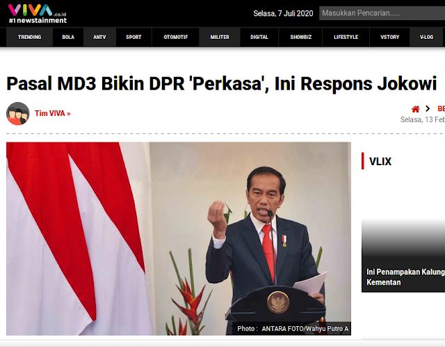 Cek Fakta: Jokowi Marah Menggunakan Teks?