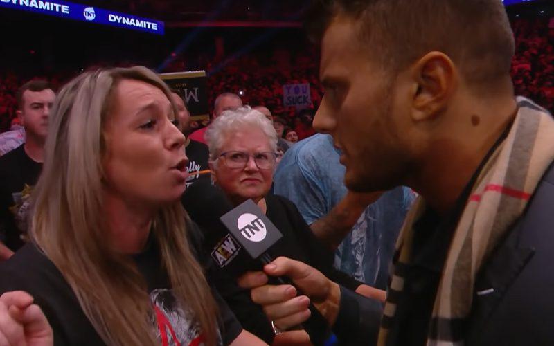 Irmã de Brian Pillman Jr entrou em trabalho de parto após o segmento com MJF no último AEW Dynamite