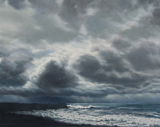 Gathering Point Katherine Kean oil on linen 24 x 30 inches