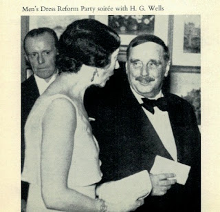 Christabel Aberconway and H. G. Wells