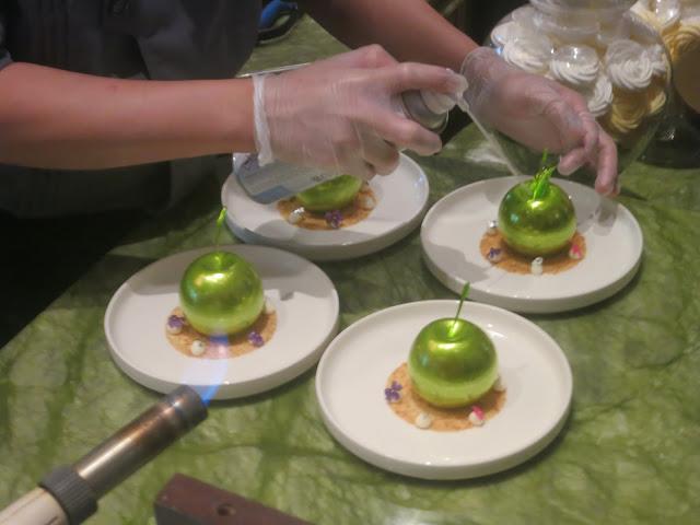 desserts preparation