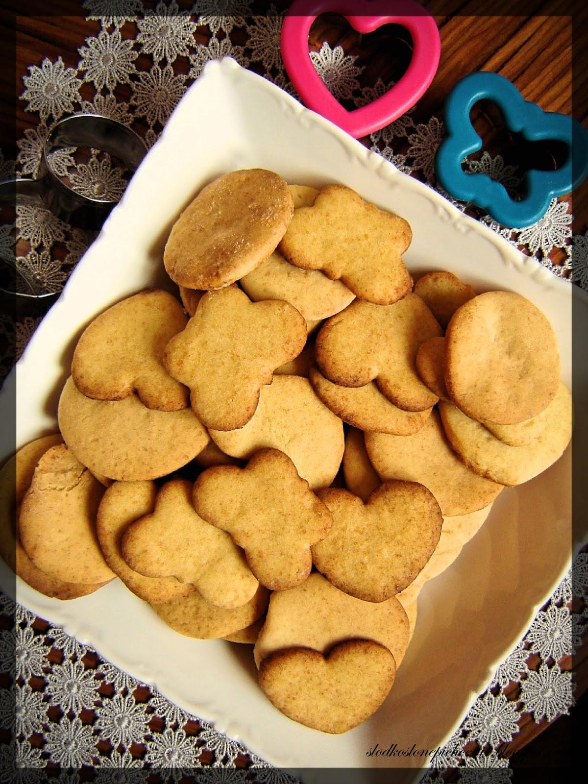 Kruche ciasteczka miodowe