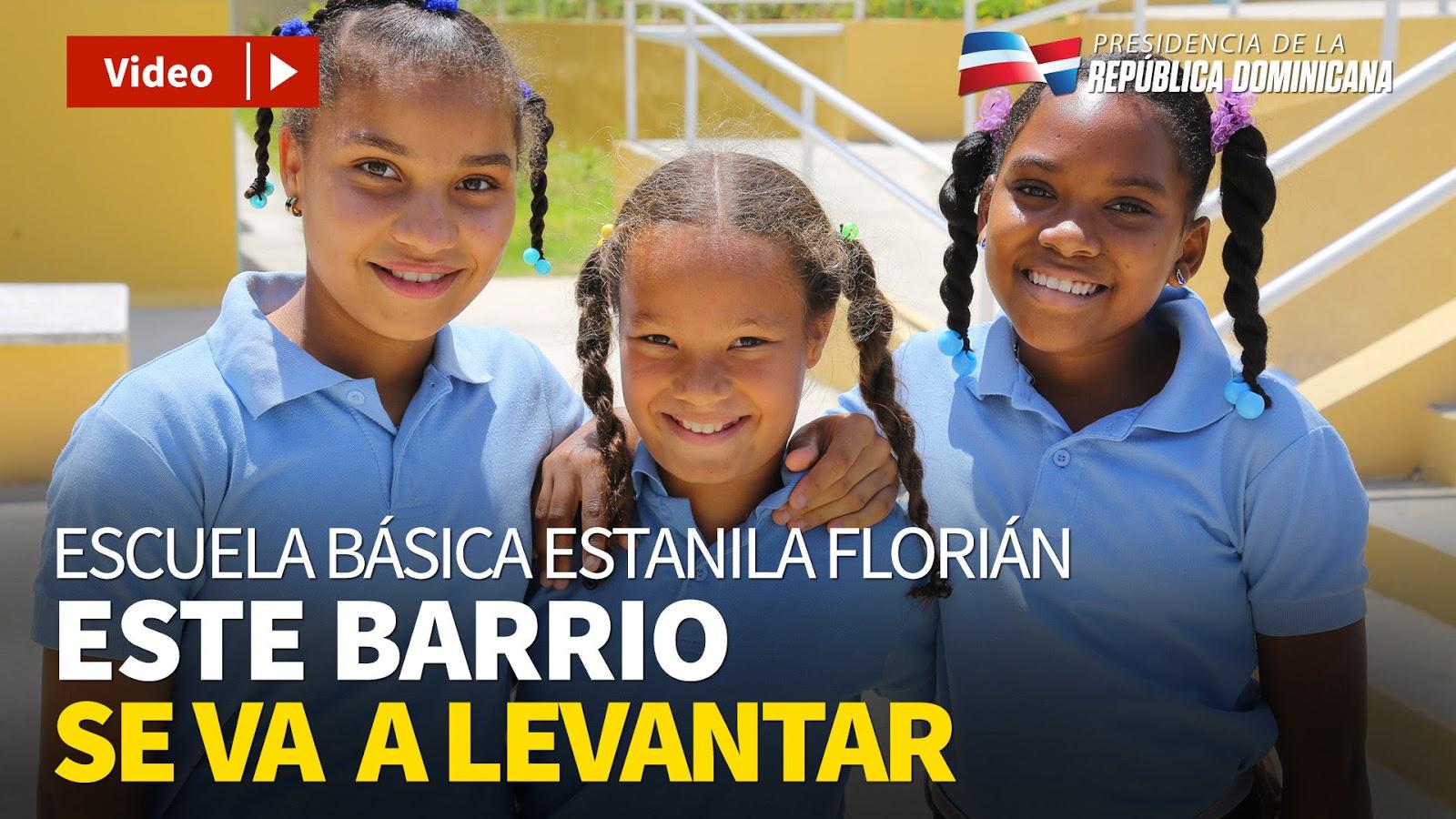 VIDEO: Danilo entrega escuela y estancia infantil en Neiba; moradores de barrios Los Cocos y Puerto Plata están alegres y agradecidos