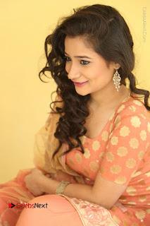 Telugu Actress Santoshi Sharma Latest Stills in Salwar Kameez at HBD Movie Teaser Launch  0100.JPG