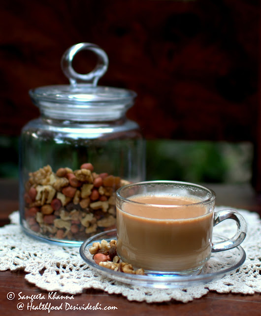 how to make chai green tea with milk