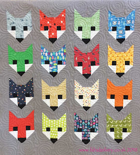 Fancy Fox Quilt made by Sophie