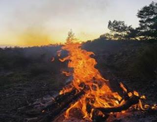 معنى حلم النار,تفسير حلم النار تحرق شخص