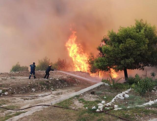 Κι άλλο Διοικητικό πρόστιμο για πρόκληση πυρκαγιάς