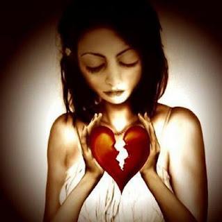 hati menderita, hati parah, hati sakit