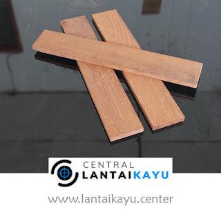 harga lantai kayu Merbau lebar 6 panjang 20-60 cm
