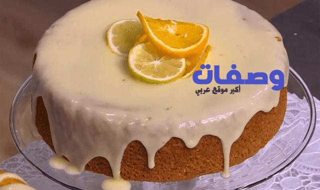 كيكة البرتقال سالي فؤاد