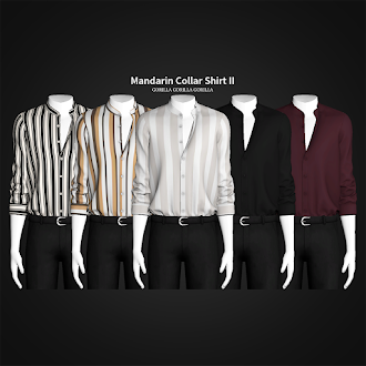Mandarin Collar Shirt II