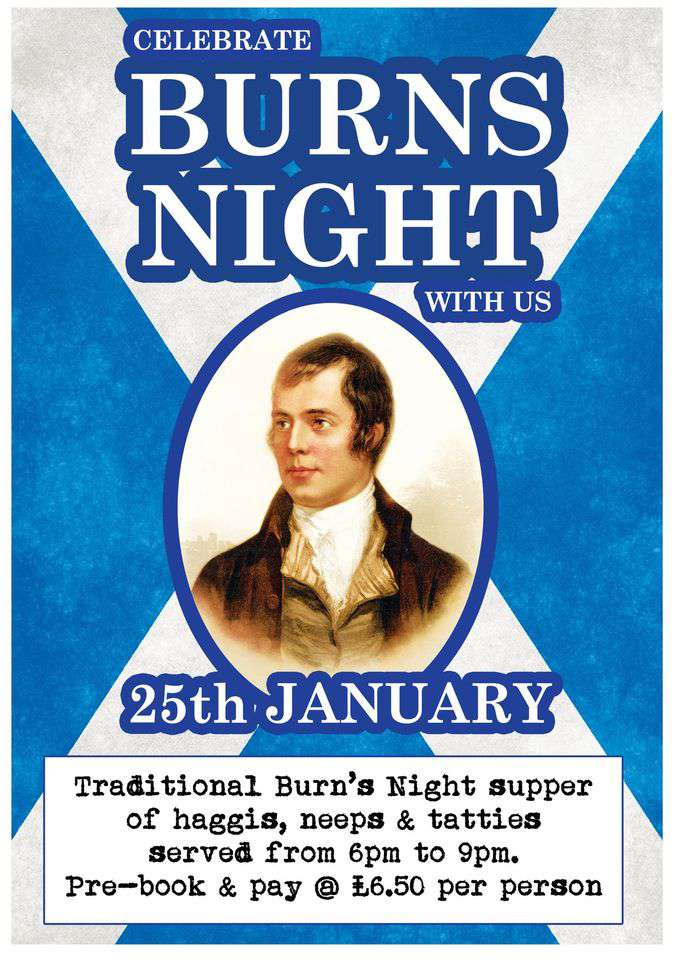 Burns Night Wishes Images download