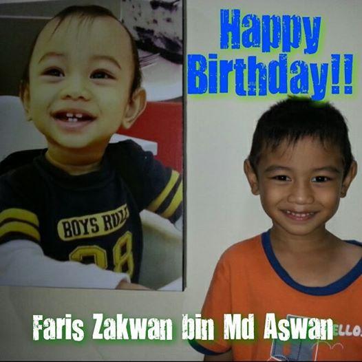 Faris Zakwan Turns 4
