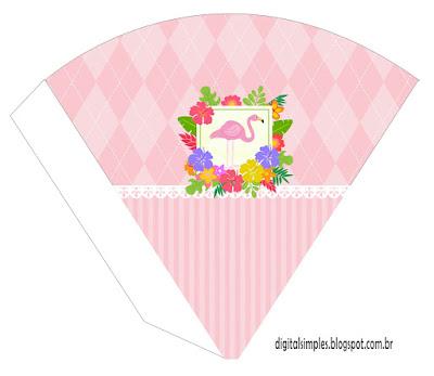 Flamingo: Imprimibles para Fiestas para Descargar Gratis.