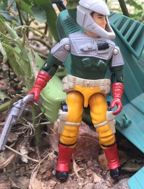 1987 Backstop, Persuader, Road Toad, 2005 Cobra Imperial Guard