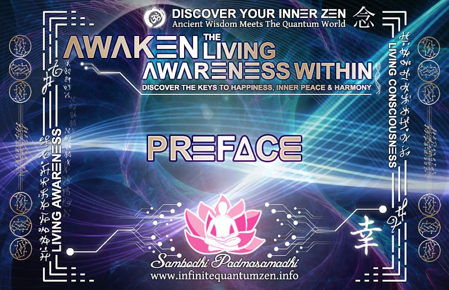 Preface - The book of zen awareness, alan watts, mindfulness key to happiness peace joy