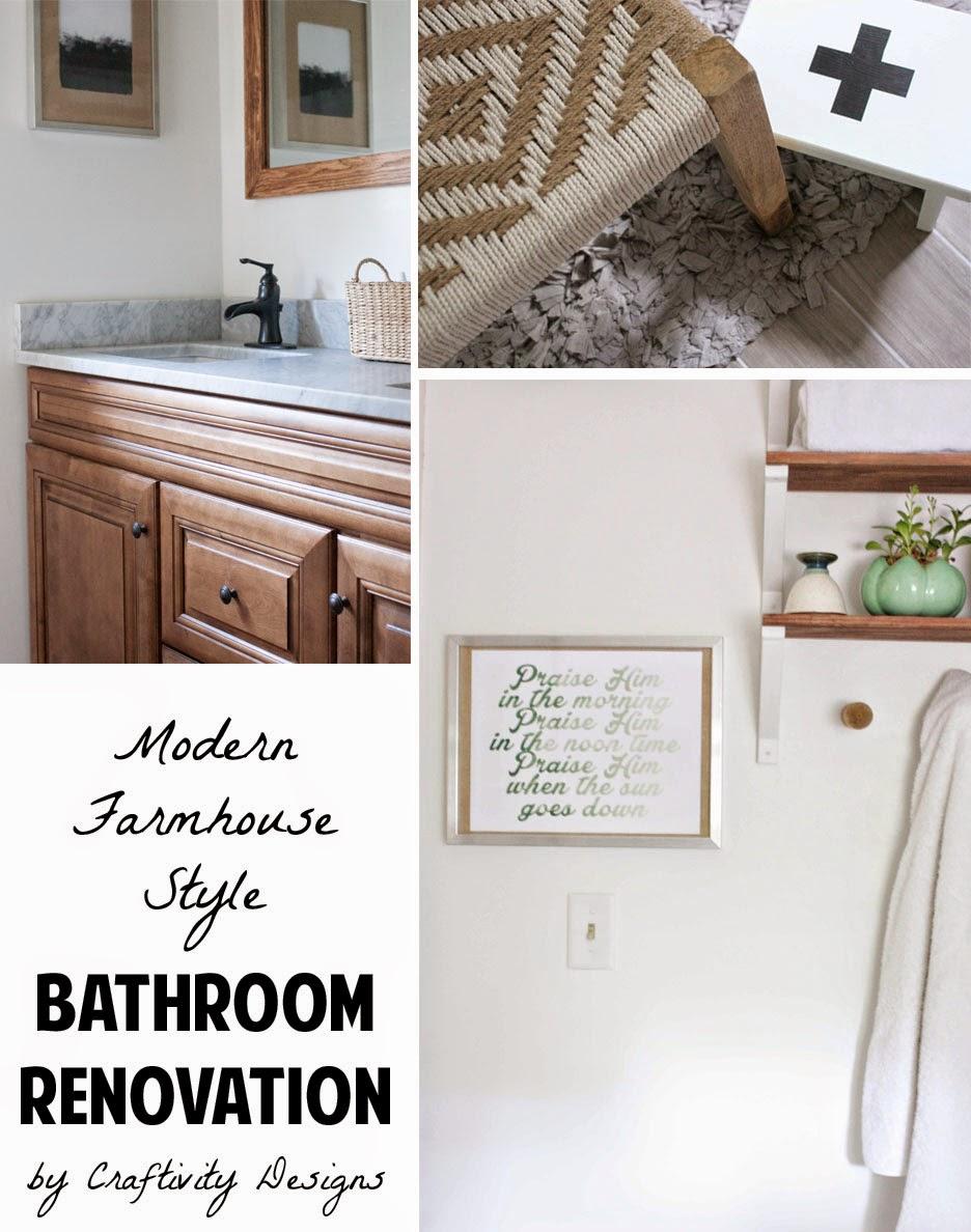 Craftivity Designs Bathroom Renovation Source List