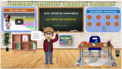 Mi aula virtual de matemática 2.