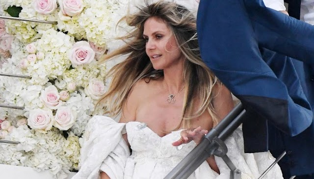 Heidi Klum Marries Tom Kaulitz for the Second Time in Capri - Russia