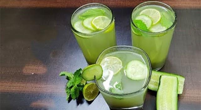 Beverages Recipe | Indian Beverages | Summber Beverages - cucumber Mint Juice
