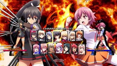 Download Game Nitroplus Blasterz Heroines Infinite Duel PC