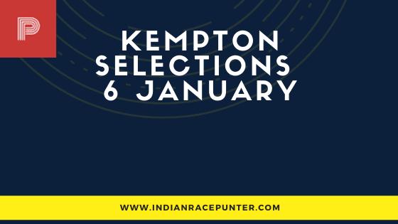 Kempton Race Selections 6 January