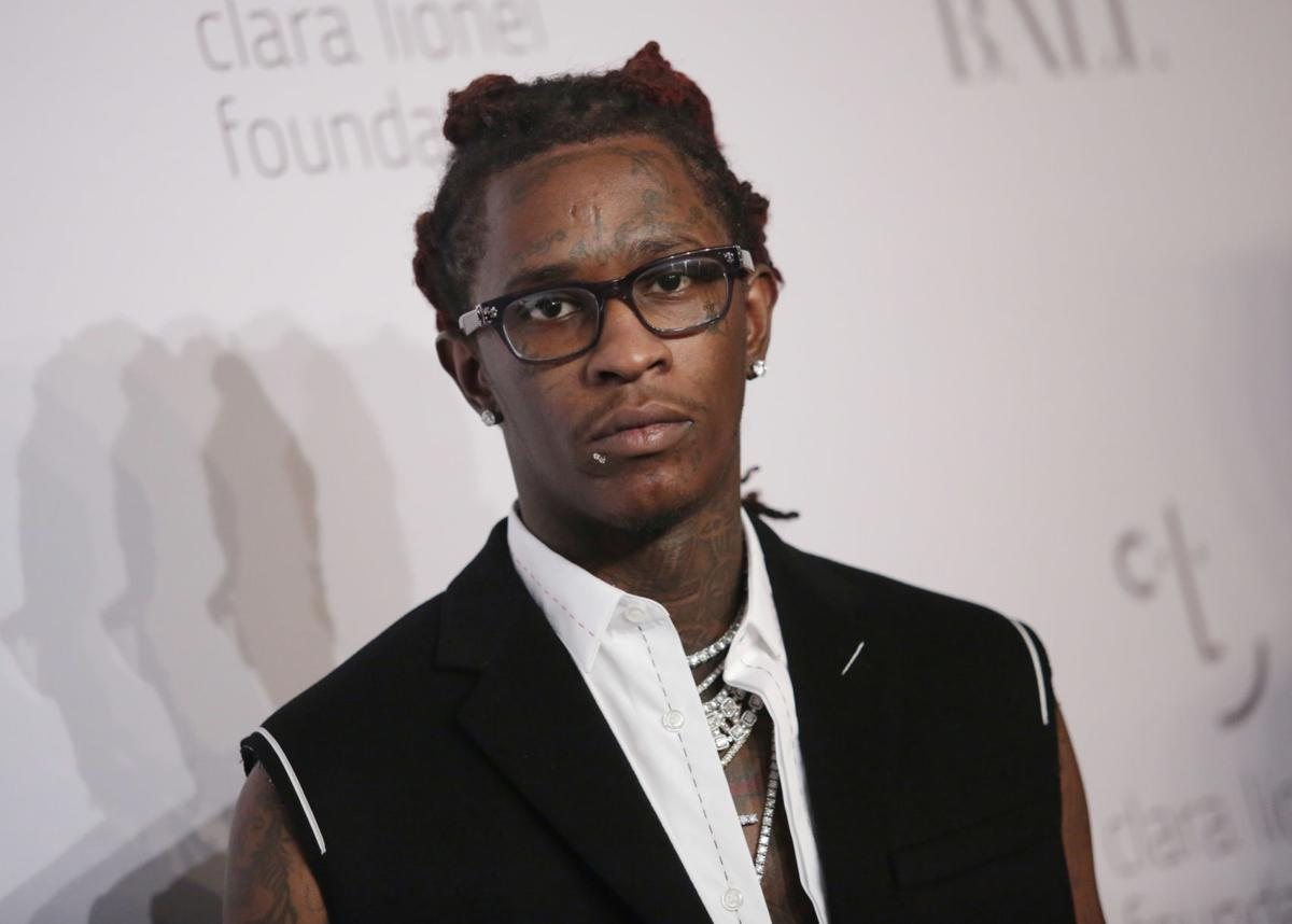 YOUNG THUG SENT BACK TO JAIL WITHOUT BOND FOR FAILING DRUG TEST