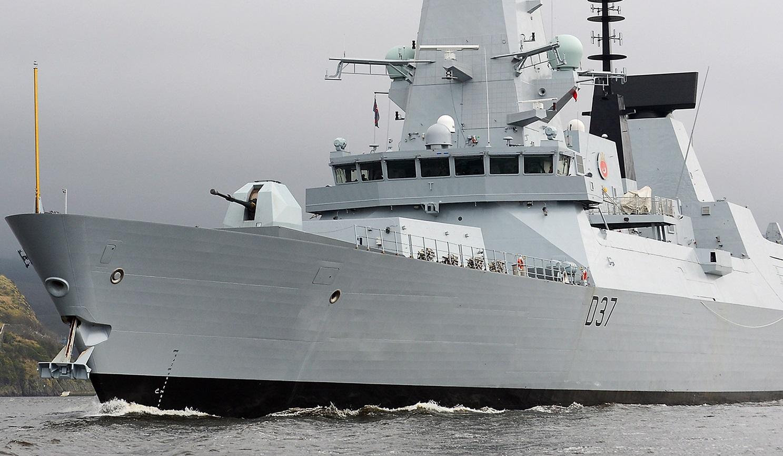 Kapal Perusak Inggris memasuki perairan Teluk Persia
