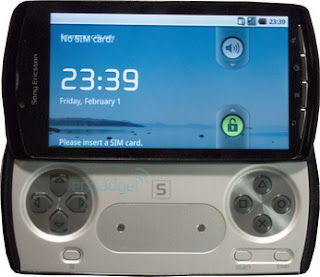 Sony PlayStation Phone pictured