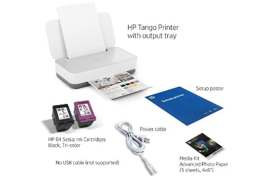 Downloads HP Tango Printers Driver