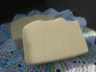 Castile soap made with olive oil and sea water from Canada's West Coast