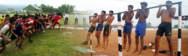 Indian Army Recruitment Rally at Barrackpore, West Bengal for Selection of Soldiers
