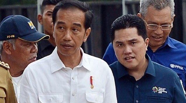 Gaungkan Kudeta Merangkak, PDIP Ingatkan Jokowi yang Lebih Percaya Luhut dan Erick daripada Partai