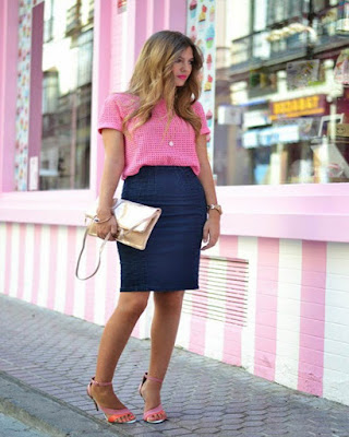 outfit rosa de primavera tumblr casual de moda