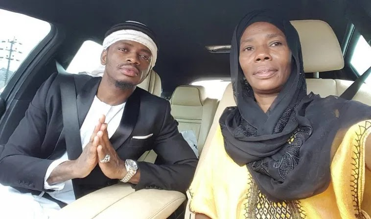diamond platnumz and his mother