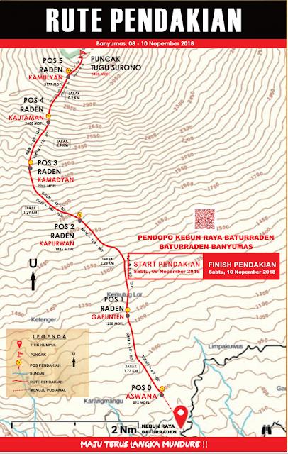 rute pendakian gunung slamet