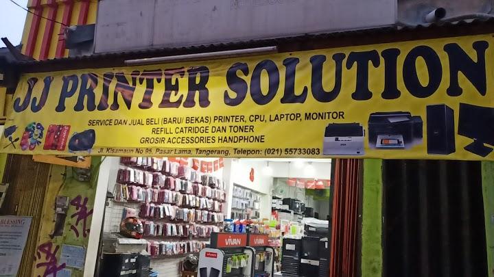 (JJ Printer Solution) Servis Printer Pasar Lama Terlengkap di Tangerang