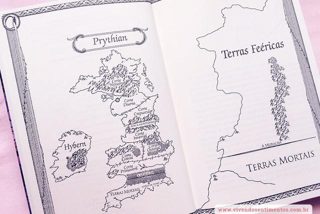 Mapa Corte de Espinhos e Rosas - Livro 1