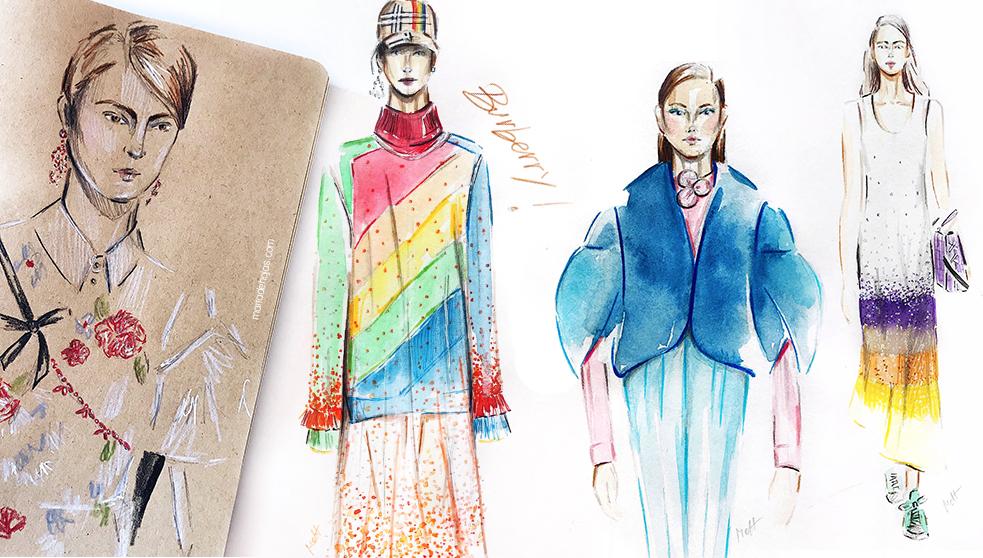 london fashion week fall winter