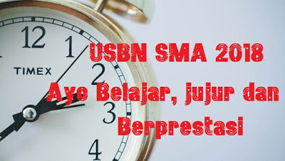 Prediksi Soal USBN SMA 2019 Prodi IPA, IPS, Bahasa Lengkap Pembahasannya